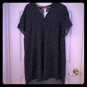 H & M loose tshirt dress